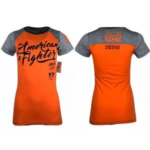 AMERICAN FIGHTER Womens T-Shirt TRINITY Athletic
